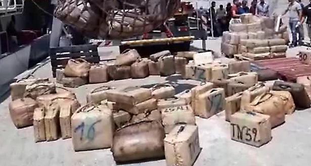 باليرمو .. الشرطة الإيطالية تحجز أكثر من عشرين طنا من المخدرات