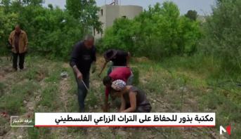 مكتبة بذور للحفاظ على التراث الزراعي الفلسطيني