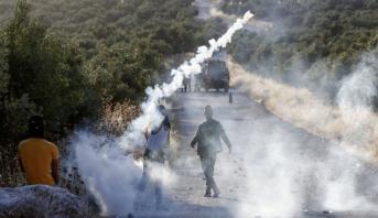 تظاهرات في الضفة الغربية المحتلة ضد خطة الضم الاسرائيلية