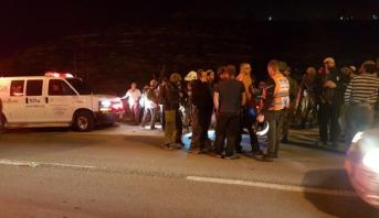 مقتل مستوطن في حادث إطلاق نار على حافلة إسرائيلية جنوب نابلس
