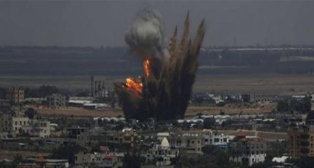 طيران الاحتلال يقصف مناطق متفرقة في قطاع غزة