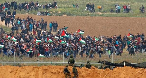 تأجيل فعاليات مسيرات العودة في ظل استمرار العدوان الإسرائيلي على قطاع غزة