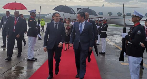 العثماني يحل ببنما لتمثيل الملك محمد السادس في حفل تنصيب الرئيس البنمي الجديد