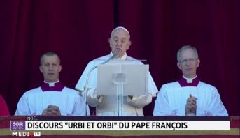 """Septième """"Urbi et orbi"""" de Noël pour le pape François"""