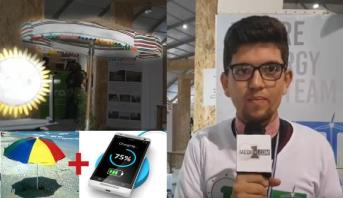"""فيديو .. طلبة من كلية العلوم بطنجة يقدمون ابتكارات إيكولوجية بـ """"كوب22"""""""