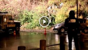 """فيديو .. الكوخ الذي قضى فيه """"أباعود""""  4 أيام متخفيا كمتشرد وخطط لهجمات أخرى بباريس"""