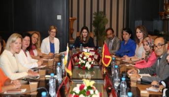 الرباط.. وفد من البرلمانيات والسياسيات الألمانيات يشيد بالإصلاحات التي يقودها الملك محمد السادس من أجل تعزيز مكانة المرأة المغربية