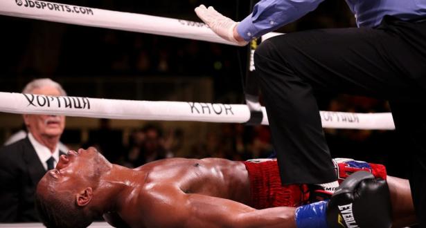 Victime d'un violent KO, un boxeur américain décède des suites de sa lésion cérébrale