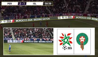 """إشهار ملف ترشيح المغرب 2026 في ملعب """"ريد بول أرينا"""" بنيويورك"""