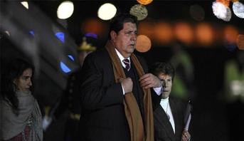 وفاة الرئيس البيروفي الأسبق آلان غارسيا بعد أن أطلق النار على نفسه