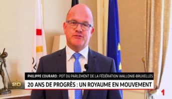 Témoignage de Philippe Courard, PDT du parlement de la fédération Wallonie-Bruxelles
