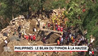 Philippines: le bilan du typhon à la hausse