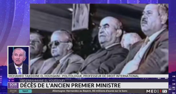 Décès de Abderrahman El Youssoufi: le témoignage du politologue Tajeddine El Houssaini