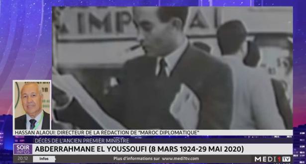 """Décès de Abderrahmane El Youssoufi: le témoignage de Hassan Alaoui, directeur de la rédaction de """"Maroc diplomatique"""""""