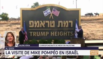 La visite de Mike Pompeo en Israël analysée par Valérie Féron