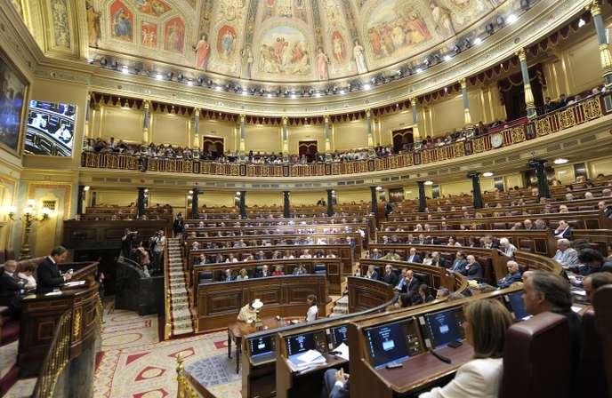 Élection des présidents des deux chambres du Parlement espagnol