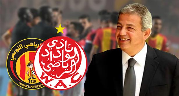 """وزير الرياضة المصري السابق يعلق على أزمة """"الفار"""" وينصف الوداد"""