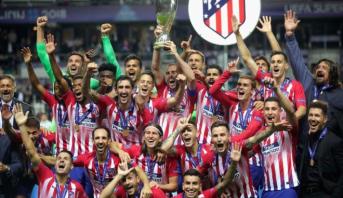 C1: deux cas positifs au Covid-19 à l'Atlético Madrid à 4 jours des quarts
