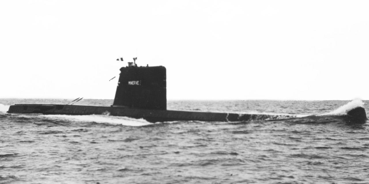 France: Un sous-marin militaire disparu depuis 50 ans retrouvé au large de Toulon