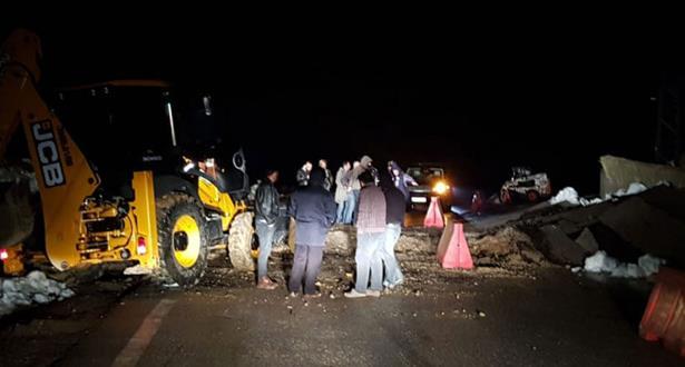 El Haouz...inondations et éboulement provoquent la mort de plusieurs personnes
