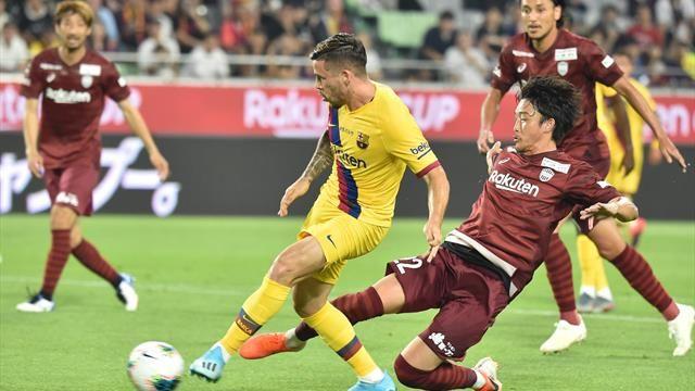 Amical: un doublé de Perez donne la victoire à Barcelone contre Vissel Kobe