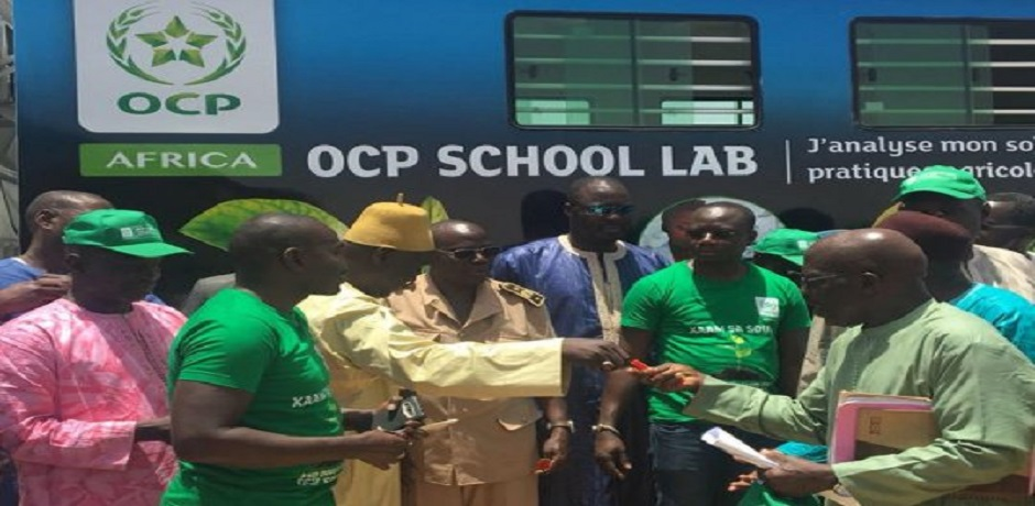 "Lancement au Ghana de l'""OCP School Lab"""