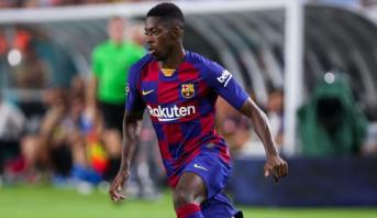 FC Barcelone: Dembélé, blessé à la cuisse gauche et indisponible 5 semaines
