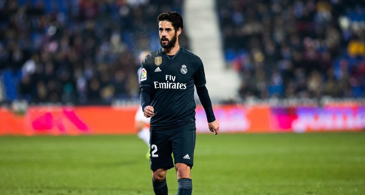 Real Madrid: Isco souffre d'une blessure à une cuisse