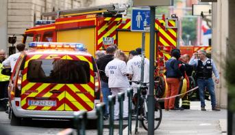 قتيل وتسعة جرحى طعنا قرب مدينة ليون الفرنسية