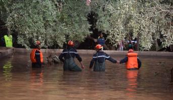 بلاغ : العثور على جثة الشخص المفقود جراء فيضانات إقليم تارودانت