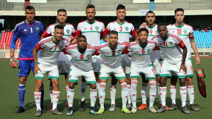 Les U23 marocains s'entraînent avant d'affronter le Mali