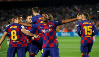 الليغا : خماسية لبرشلونة وأول فوز للريال في ملعبه