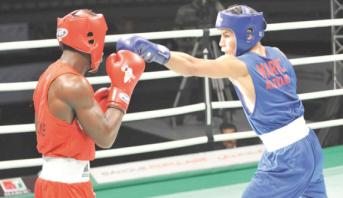 Le  Marocain Amroug qualifié au 16è tour du Championnat du monde de boxe