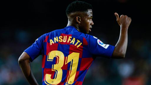 FC Barcelone: Ansu Fati touché au genou droit