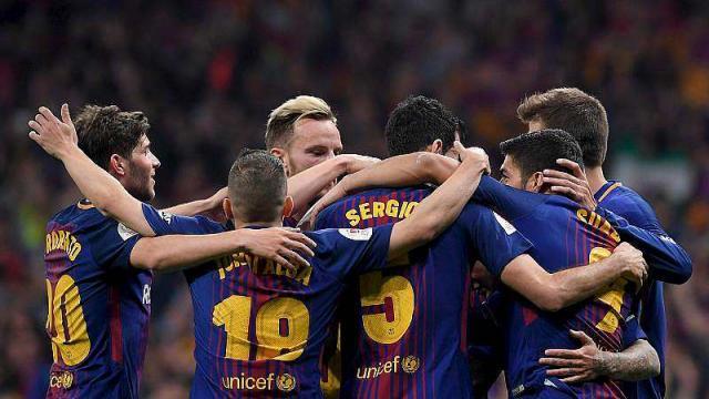Espagne: Barcelone bat Séville 4 à 0