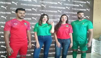 الكشف عن القميص الجديد للمنتخب المغربي