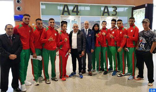 البطولة العربية للمواي طاي..7 أبطال مغاربة الى الدور النهائي