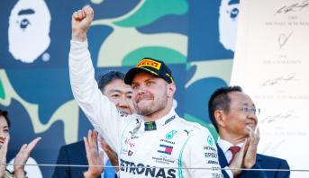 F1: Le Finlandais Bottas remporte le GP du Japon, Mercedes déjà titrée chez les constructeurs