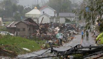 Japon: Le bilan du Typhon Hagibis grimpe à 11 morts
