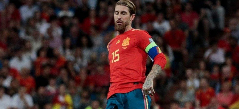 Foot: Sergio Ramos a fêté sa 168ème sélection avec la Roja !