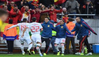 Foot: l'Espagne qualifiée pour l'Euro-2020
