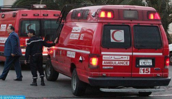 Accidents de la circulation au Maroc : 12 morts et 2.003 blessés en périmètre urbain la semaine dernière