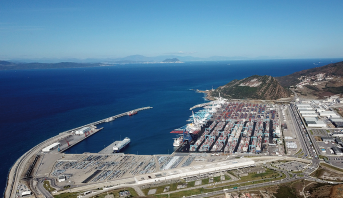 Port Tanger-Med: Saisie de plus de 8 tonnes de chira sur un camion de transport international, le chauffeur arrêté