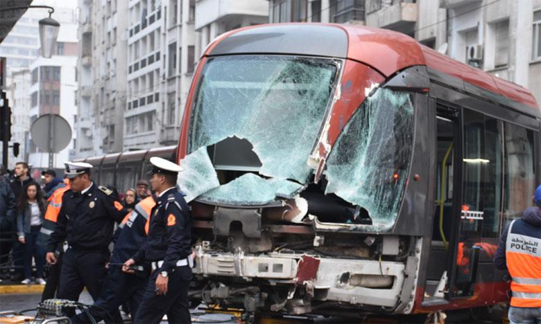 Casablanca: collision grave entre un camion et une rame du tramway