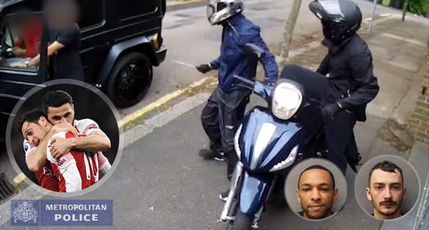 بعد اعتقال اللصين.. شرطة لندن تكشف فيديو جديد للهجوم على أوزيل و كولاسيناك!