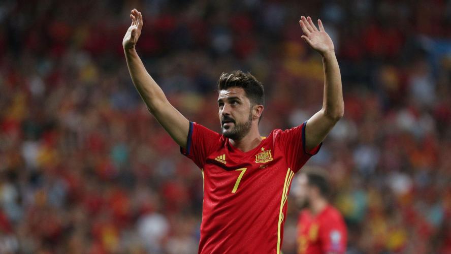 Football: David Villa annonce sa retraite