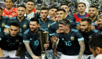 """ميسي يقود الأرجنتين لهزم """"السيليساو"""" في الرياض"""