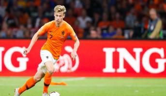 """Qualifs Euro-2020: """"On ne doit pas être trop critiques"""", juge de Jong"""