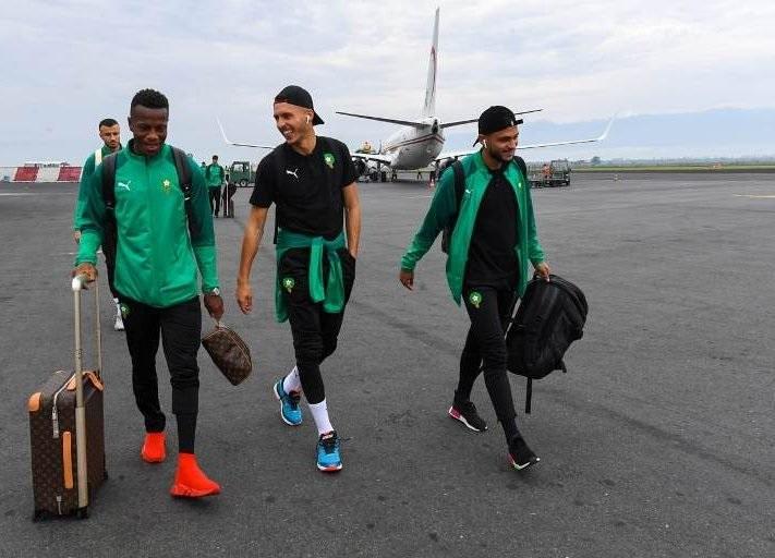 بعثة المنتخب الوطني تحط الرحال ببوروندي