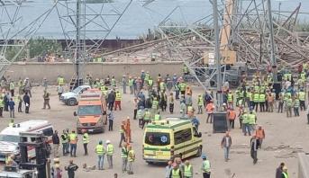 Égypte: 4 morts et 3 blessés dans l'effondrement d'une tour électrique